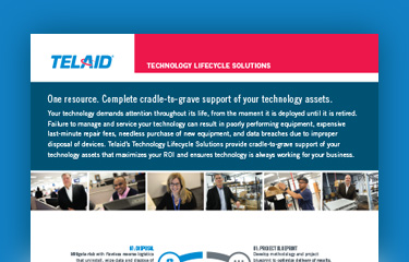 technology lifecycle solutions
